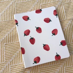 Kate Spade Strawberry Enclosed Spiral Notebook